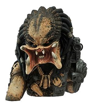 Diamond Select Toys Predator: Unmasked Vinyl Bust Bank Statue