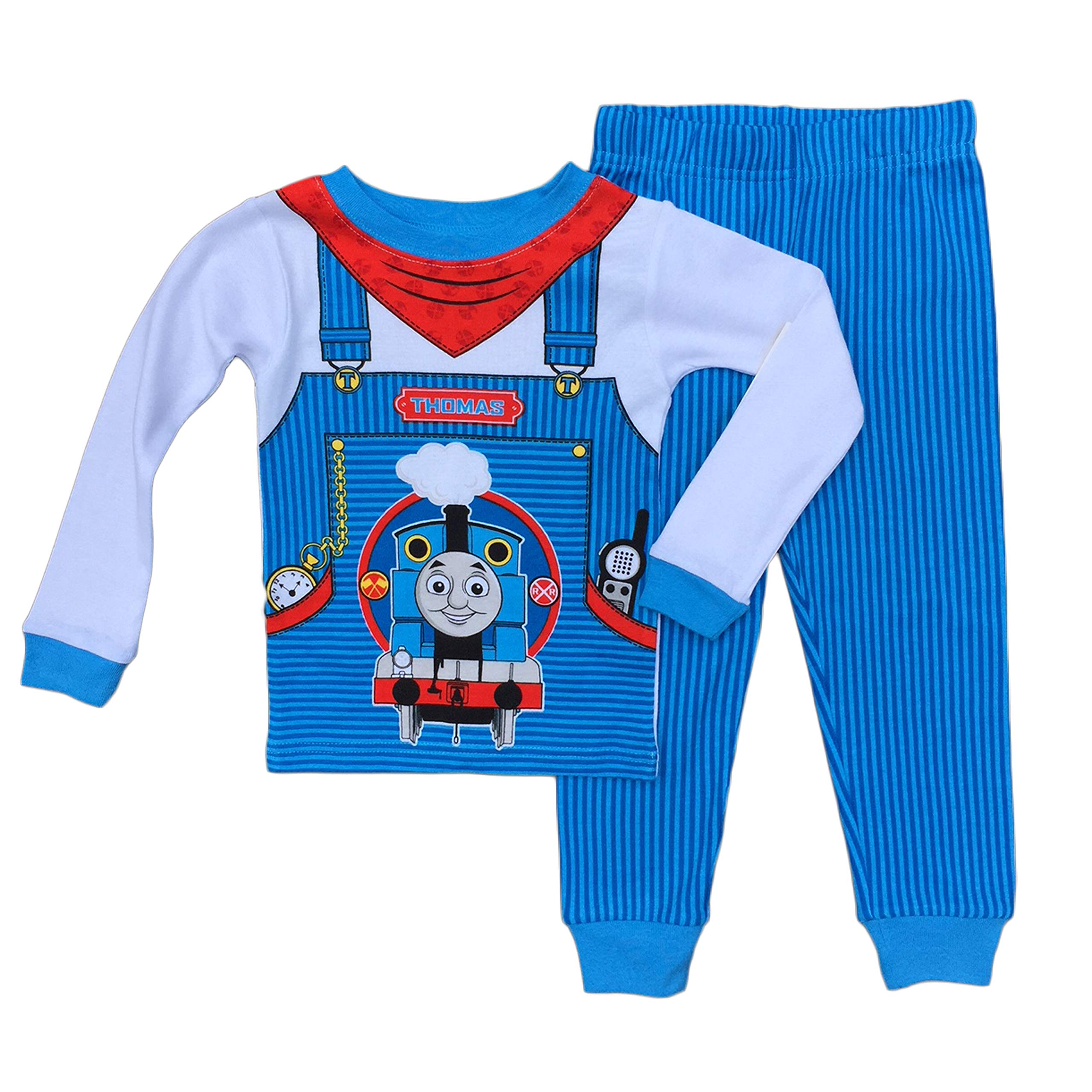 Thomas The Train Little Boys Toddler Cotton Pajama Set (3T)