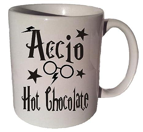 Amazon.com: Accio Chocolate caliente harry potter 11 Oz Café ...