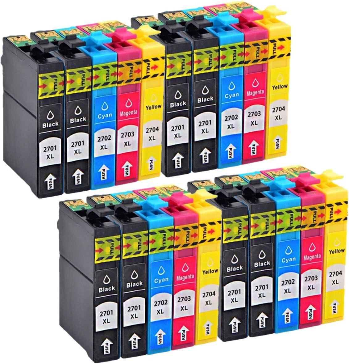 No-Name Cartuchos de Tinta de Repuesto para Epson Workforce WF ...