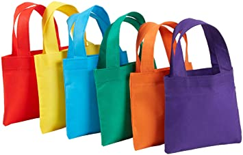 Amazon.com: 12 Poly Non-Woven Tote Bags 6