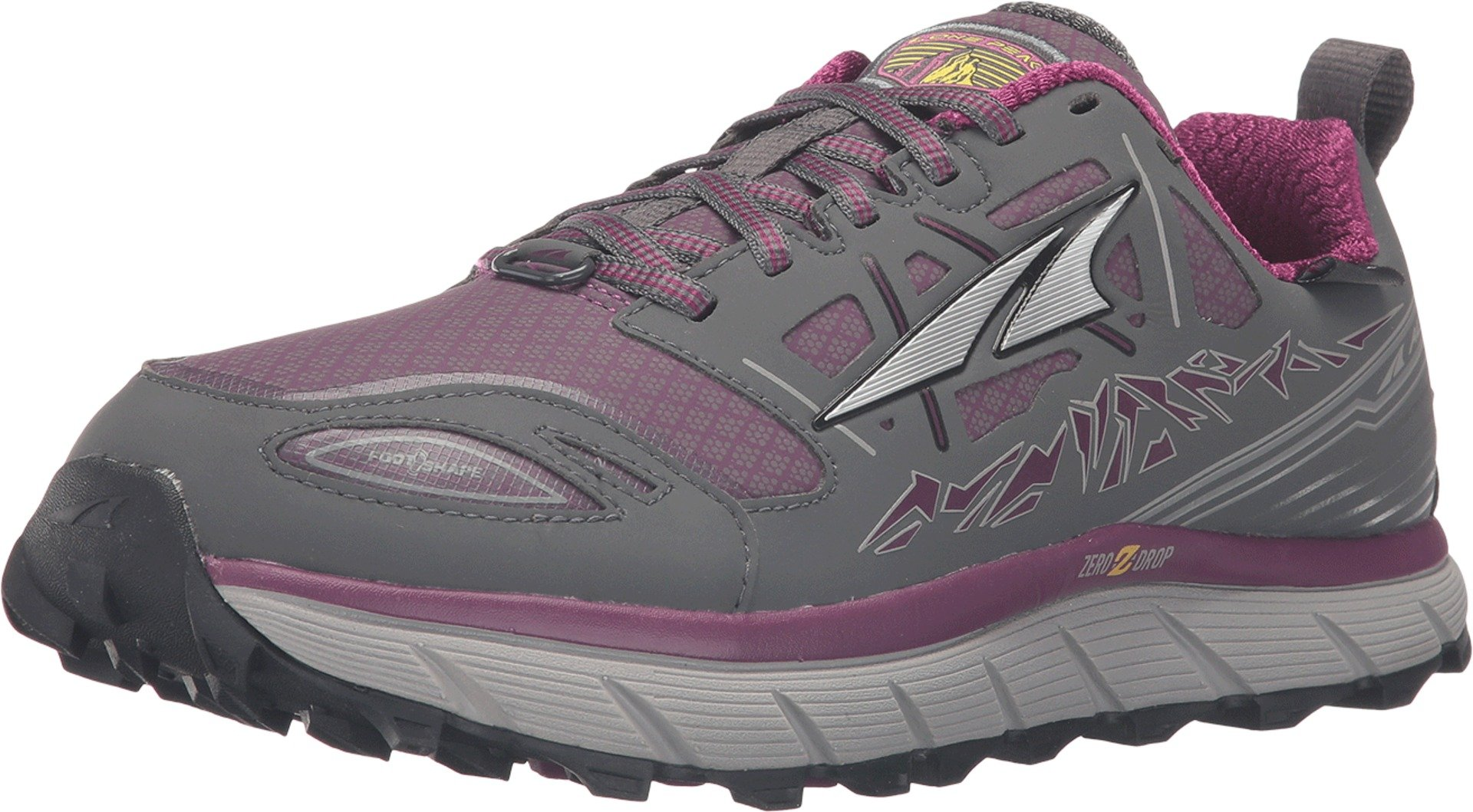 Altra Women's Lone Peak 3 Low Neo Running Shoe, Color: Gray/Purple, Size: 9.5, Width: D (A2653LOW-2-095-D) by Altra