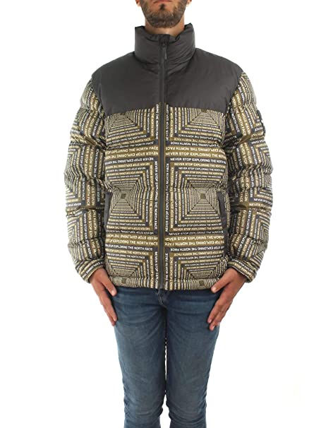 The North Face M 1992 Nuptse Jacket Firgreenlcdcapsuleprint XL: Amazon.es: Ropa y accesorios