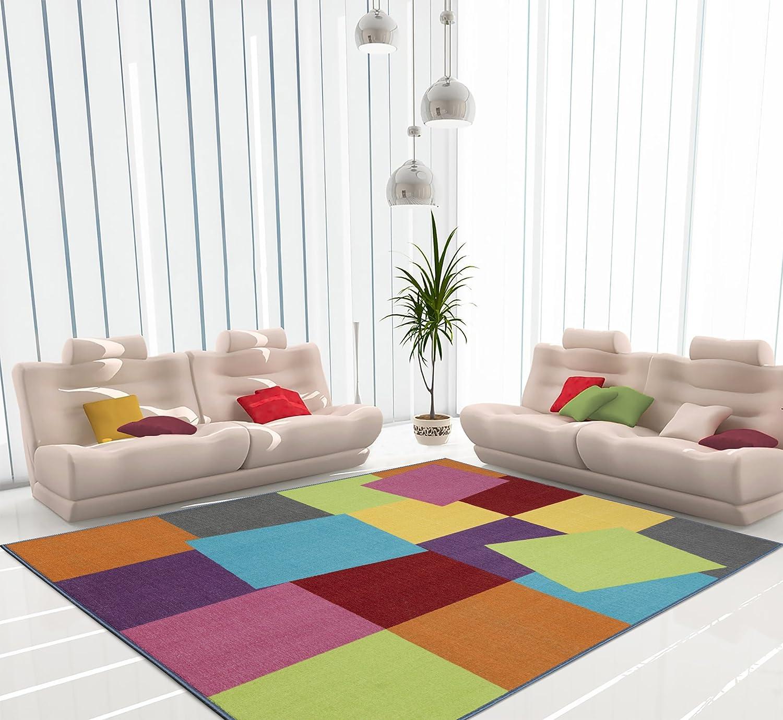 Amazon.com: Ottomanson Rainbow Collection Non-Slip Kids Rug Modern on hide bar ideas, hide jewelry ideas, hide tv ideas,