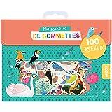 Ma pochette de gommettes - 100 oiseaux