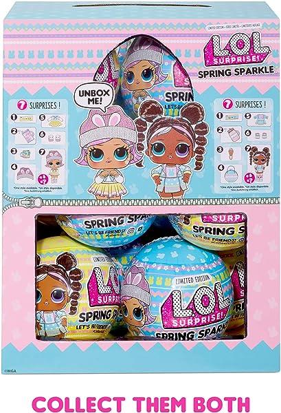 В Умном Трюке Lol Spring Sparkle Doll Есть 7 Сюрпризов, О Которых Никто Не Говорит