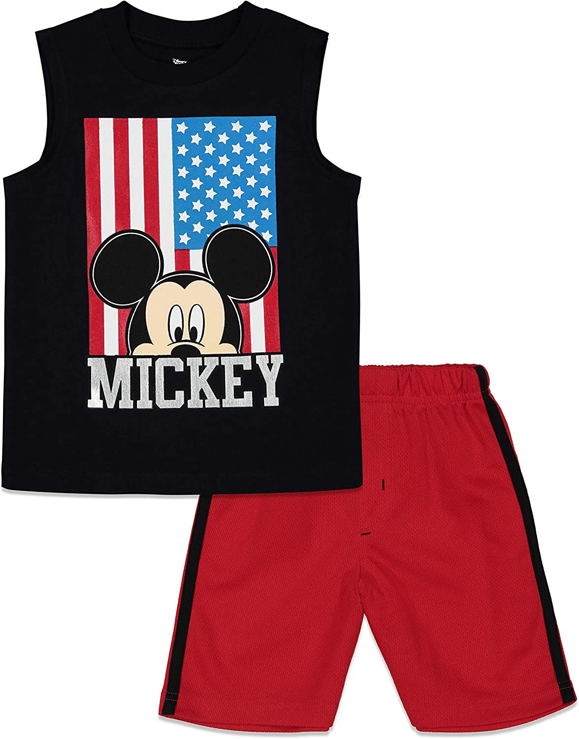Disney Mickey Mouse Boys Tank Top and Shorts Set