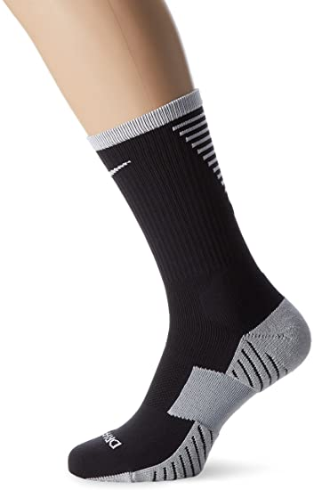 665e0fa7a37d Amazon.com  Nike Stadium Crew Soccer Socks (Black)  Sports   Outdoors