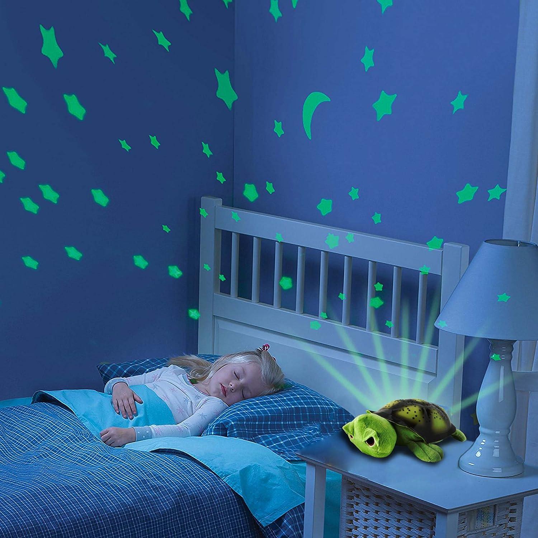 2in1luce notturna e proiettore cielo stellato per Baby Camera Turtle Tartaruga, 3luci LED di colore (blu, rosso e verde), Regolabile, Funzione di Spegnimento Automatico e molte altre funzioni, nuovo Hsp Himoto starlight buddy' s