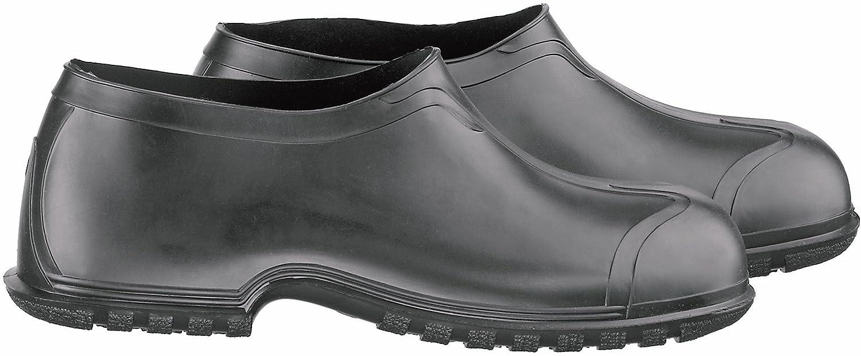 Onguard 86010 schwere flex-o-thane PVC Herren Überschuhe mit 4-Wege-Genagelte Laufsohle 10,2 cm Höhe schwarz Größe S