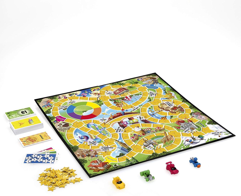 Hasbro Gaming-El Juego de la Vida Junior, Multicolor (B0654): Amazon.es: Juguetes y juegos