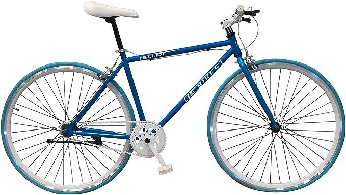 Helliot Bikes Fixie Soho H11 Bicicleta Urbana, Unisex Adulto, Naranja, Talla Única: Amazon.es: Deportes y aire libre