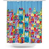 Queen Of Cases Its A Small World Disney Parks Inspired Shower Curtain