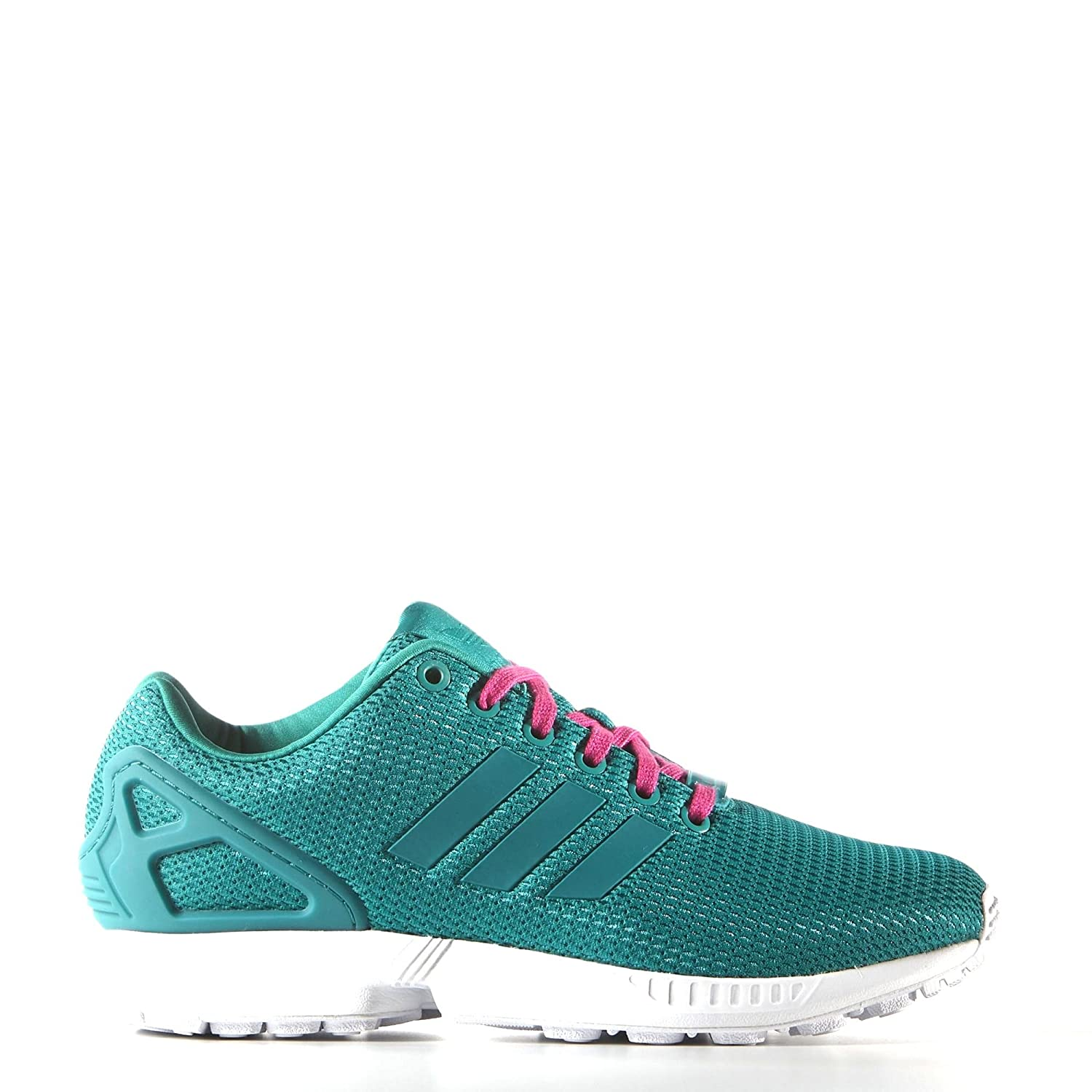 differently 49336 e8fab ... discount code for adidas womens zx flux w green white s78972 lovely  bda6d f31f3