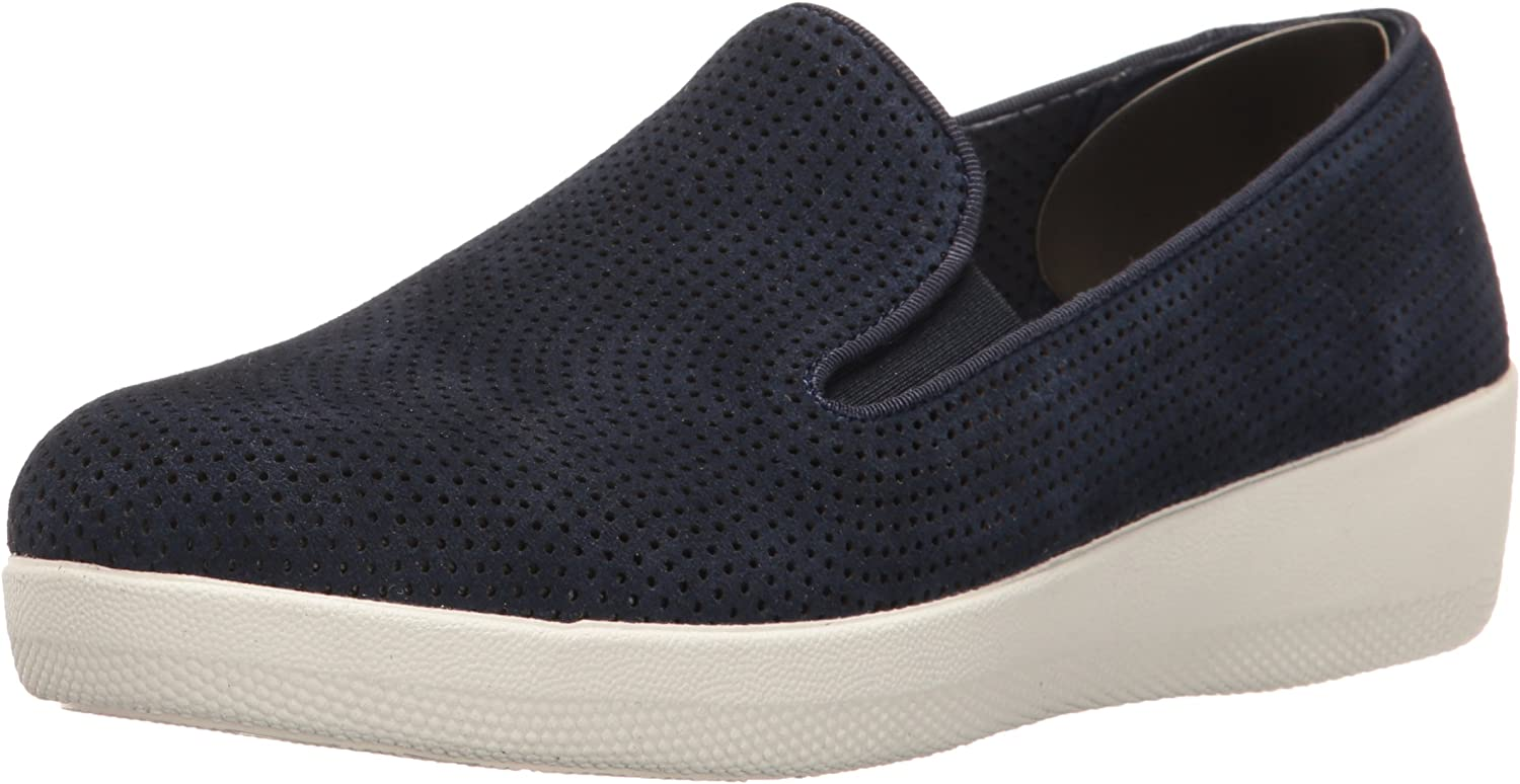 FitFlop Women's Superskate Perf Suede Loafer