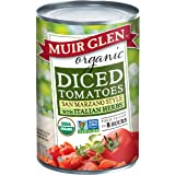 Muir Glen, Organic Diced Tomatoes, With Italian Herbs, 14.5 oz(Packaging May vary)