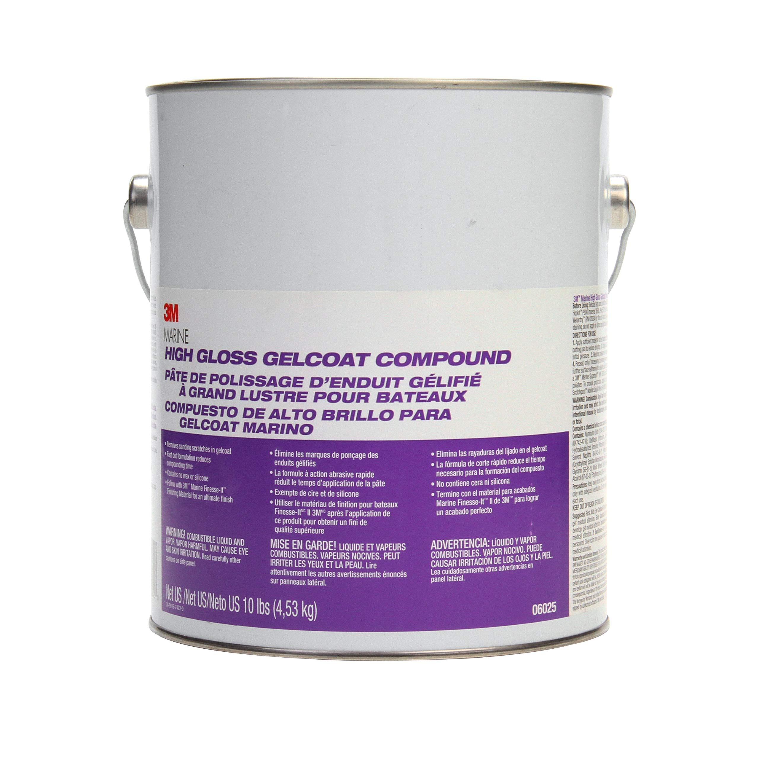 3M COMPOUND for HIGH GLOSS GELCOAT