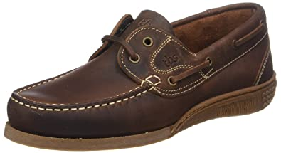 Hauban, Chaussures Bateau Hommes, Marron (Incas 165), 43 EUTBS