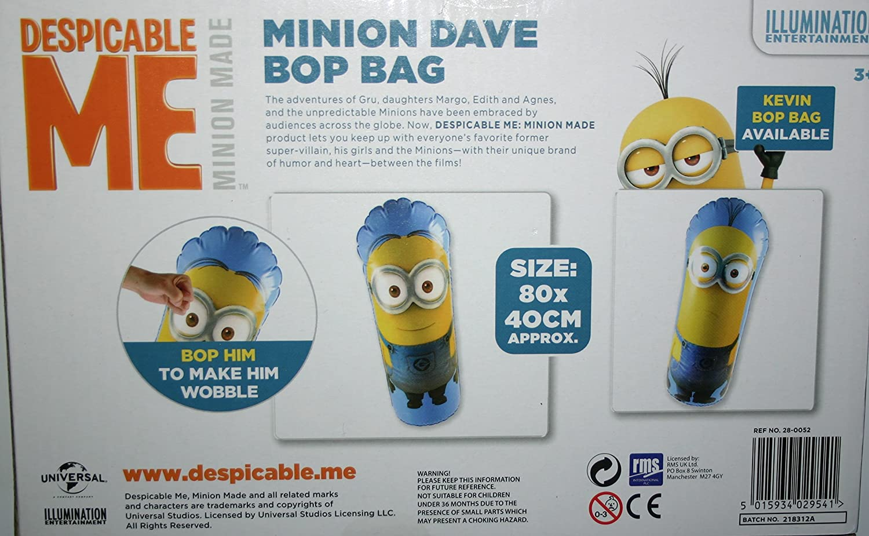 Hinchable tentetieso Minions Bop Bag 80cm Surtido