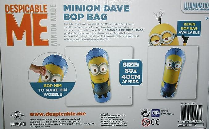 Hinchable tentetieso Minions Bop Bag 80cm Surtido: Amazon.es ...