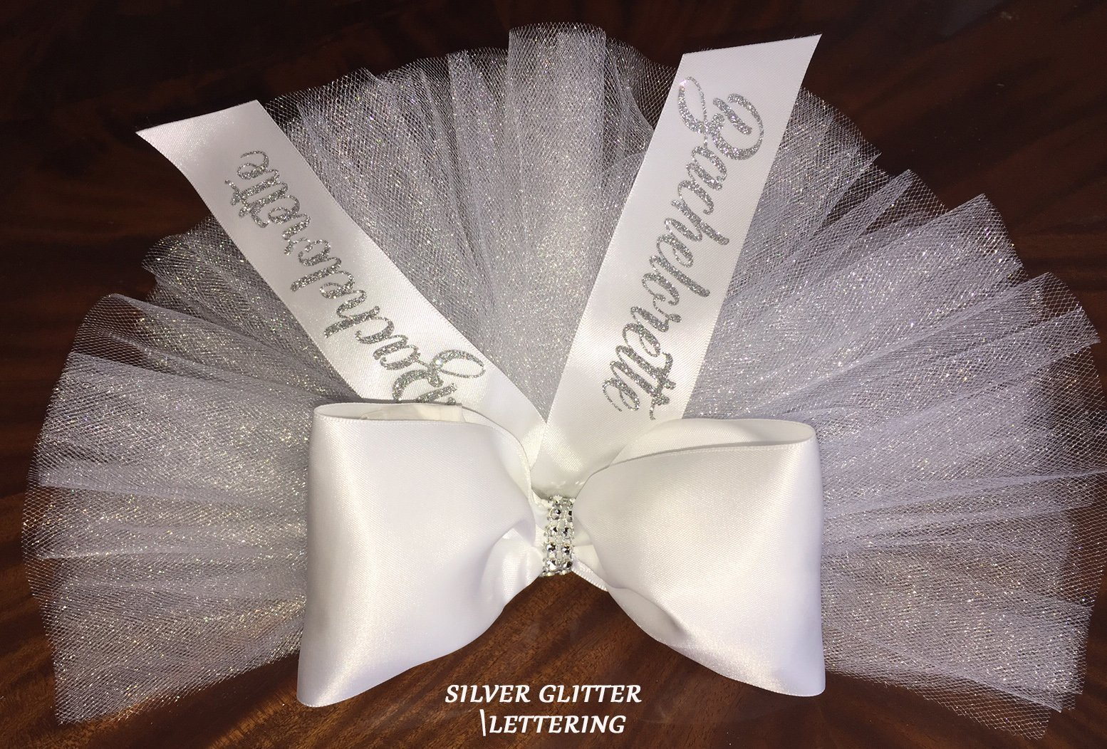 Bride's TuTu Veil, Booty Veil, Bachelorette Party Veil, Bikini Veil, Bachelorette Booty - PERSONALIZED colors available in tulle, ribbon and lettering by SashANation