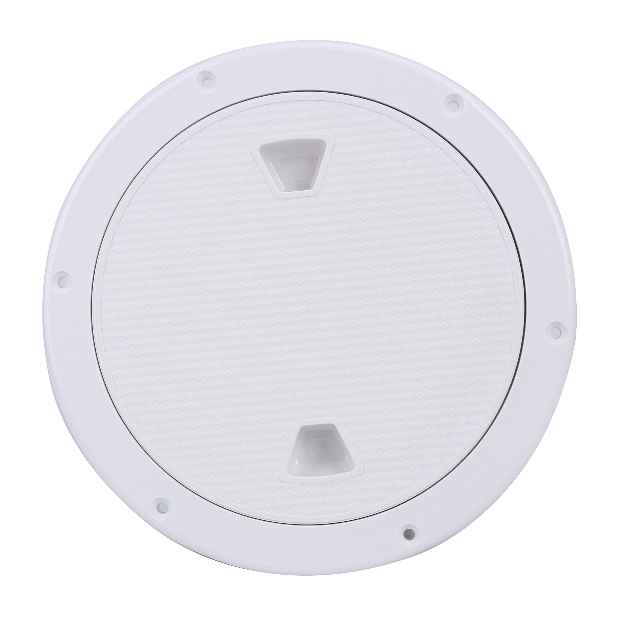 Amarine-made External Dia: 9.84'' /250mm Boat Round Non Slip Inspection Hatch ,Opening Dia: 7'' /180mm