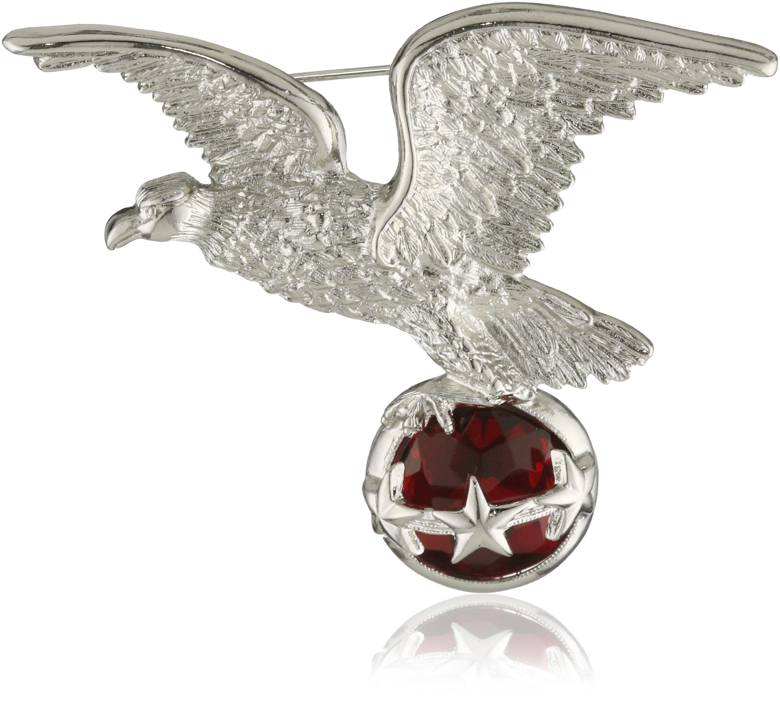 1928 Jewelry Made in America USA Eagle Brooch