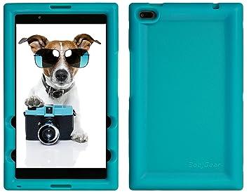 BobjGear Carcasa Resistente para Tablet Lenovo Tab 4 8 Inch, TB-8504F, TB-8504X (No para Tab 4 8 Plus TB-8704) - Bobj Funda Protectora (Turquesa)
