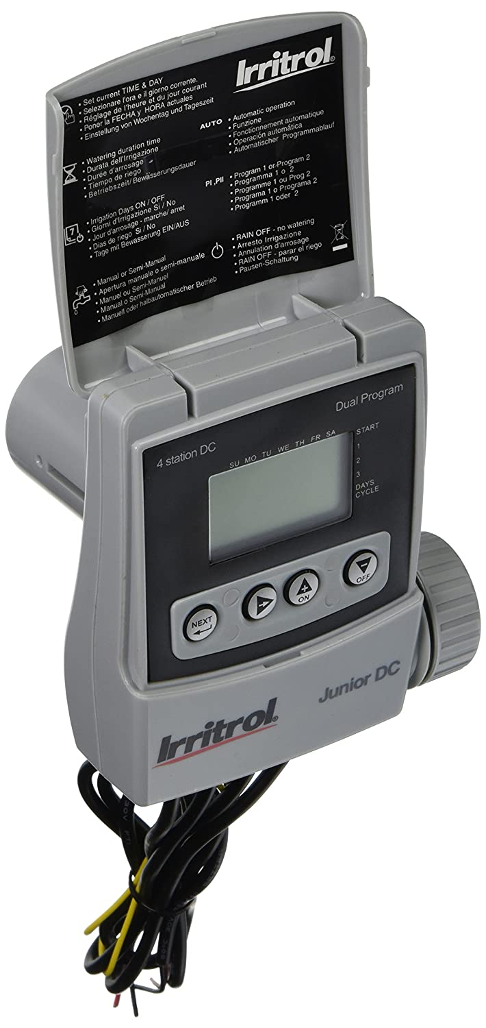 Amazon com : Irritrol JRDC-4 Battery Operated 4 Station