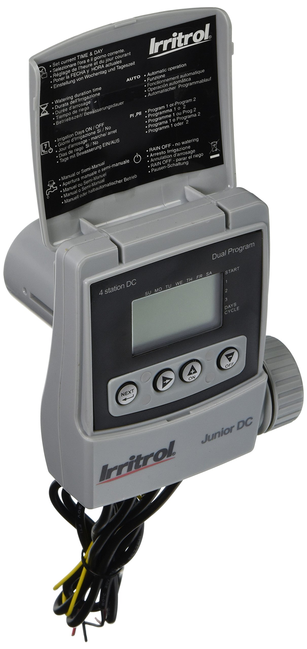 Irritrol JRDC-4 Battery Operated 4 Station Irrigation Controller