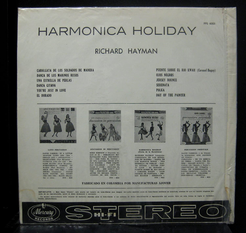 Richard Hayman Harmonica Holiday Colombia Lp Vinyl Record