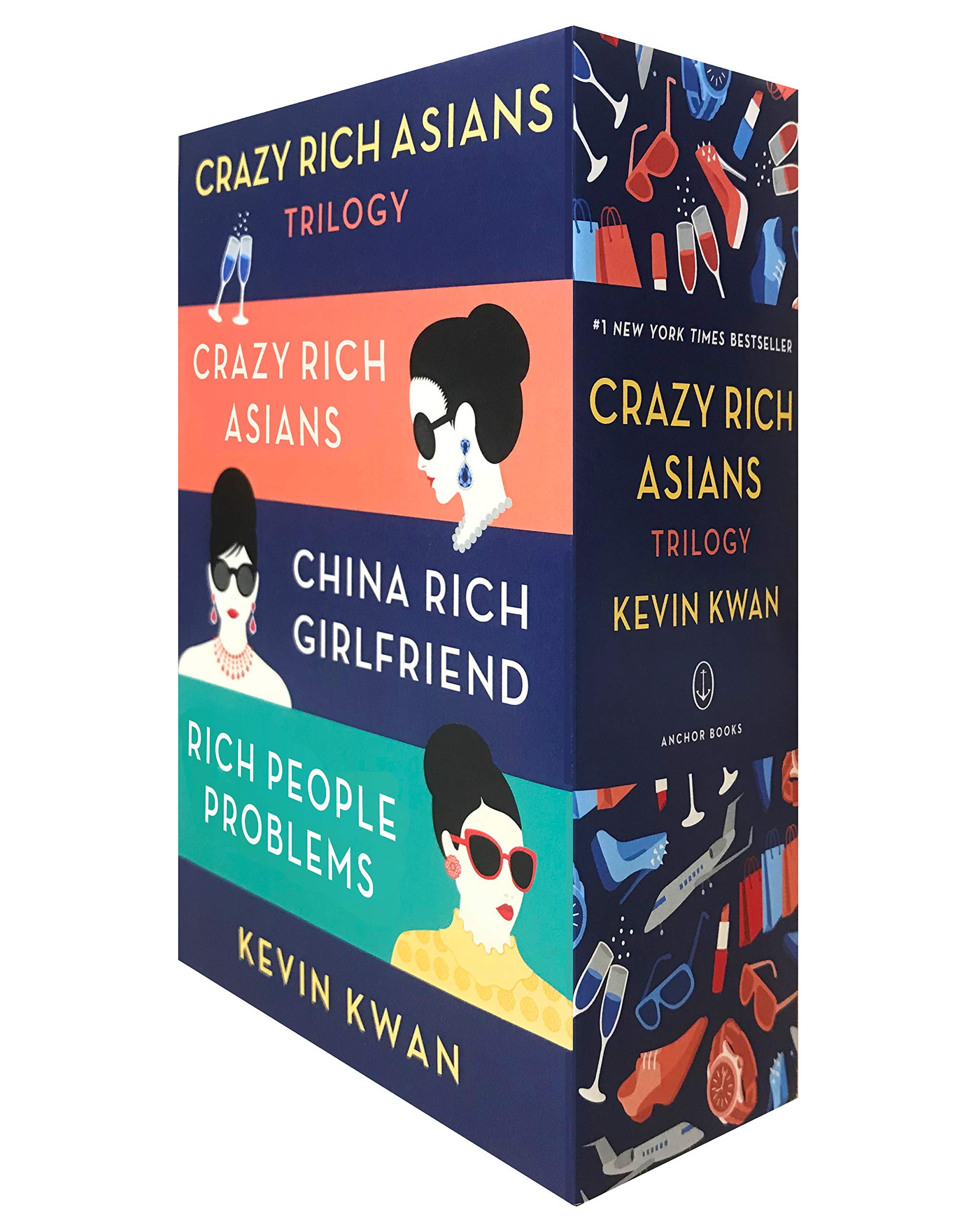 The Crazy Rich Asians Trilogy Box Set by Anchor