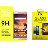 Rkmobiles Gionee S6S Tempered Glass, 9H Hardness Ultra Clear, Anti-Scratch, Anti-Fingerprints (For Gionee S6S) + Free Cleaning Kit Inside