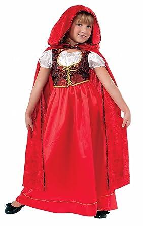 Forum Novelties Lil Caperucita Roja Deluxe - Niños Disfraz: Amazon ...