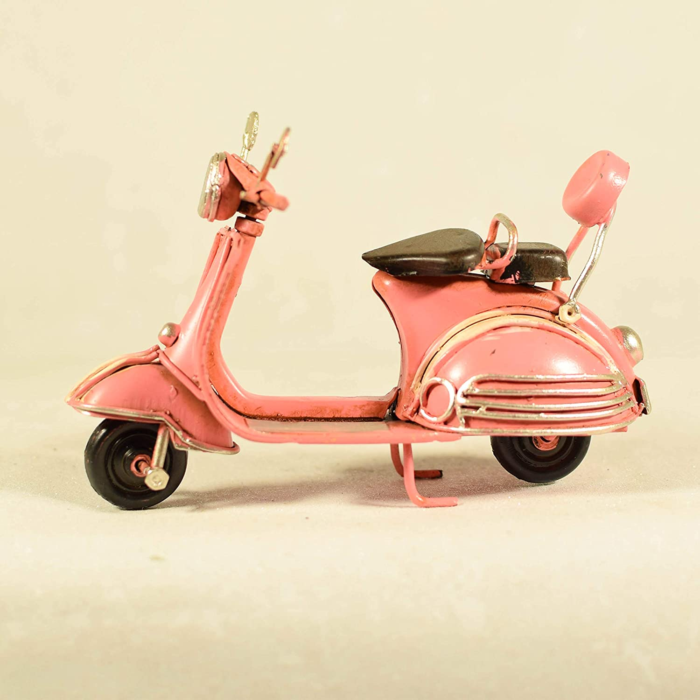 Vespa UniqueGift Miniatur-Vespa-Figur aus Metall mit Vespa-Motiv dekoratives Sammlerst/ück Miniatur-Roller aus Metall s/ü/ßes Vespa-Geschenk Metall Vintage-Stil Scooter-Modell