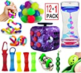 13 Pack Fidget And Sensory Toys Bundle,Purple