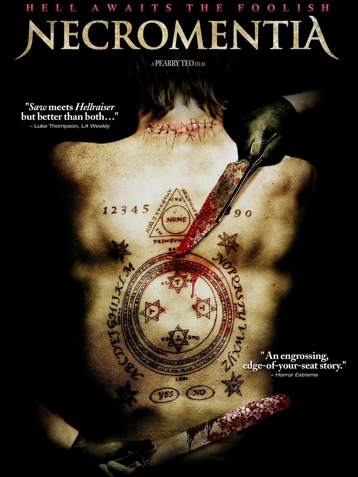 CASSADAGA Movie Poster 2011 Horror Shock Gore