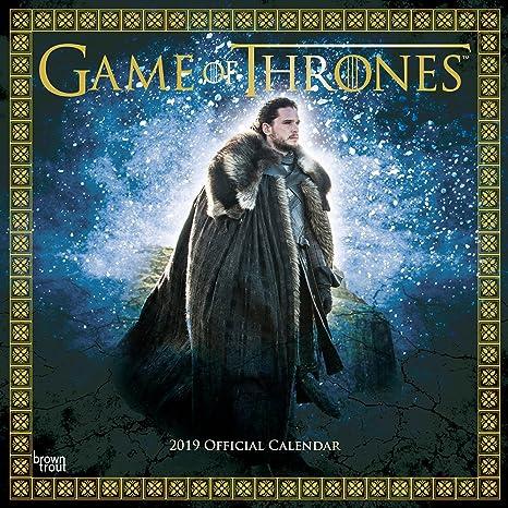 Game Of Thrones 2019 Square Wall Calenda Amazon De Spielzeug