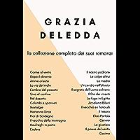 Canne al vento, Dopo il divorzio, Cosima, Anime oneste, Fior di Sardegna, Nel deserto, L'ombra del passato, Il vecchio… book cover