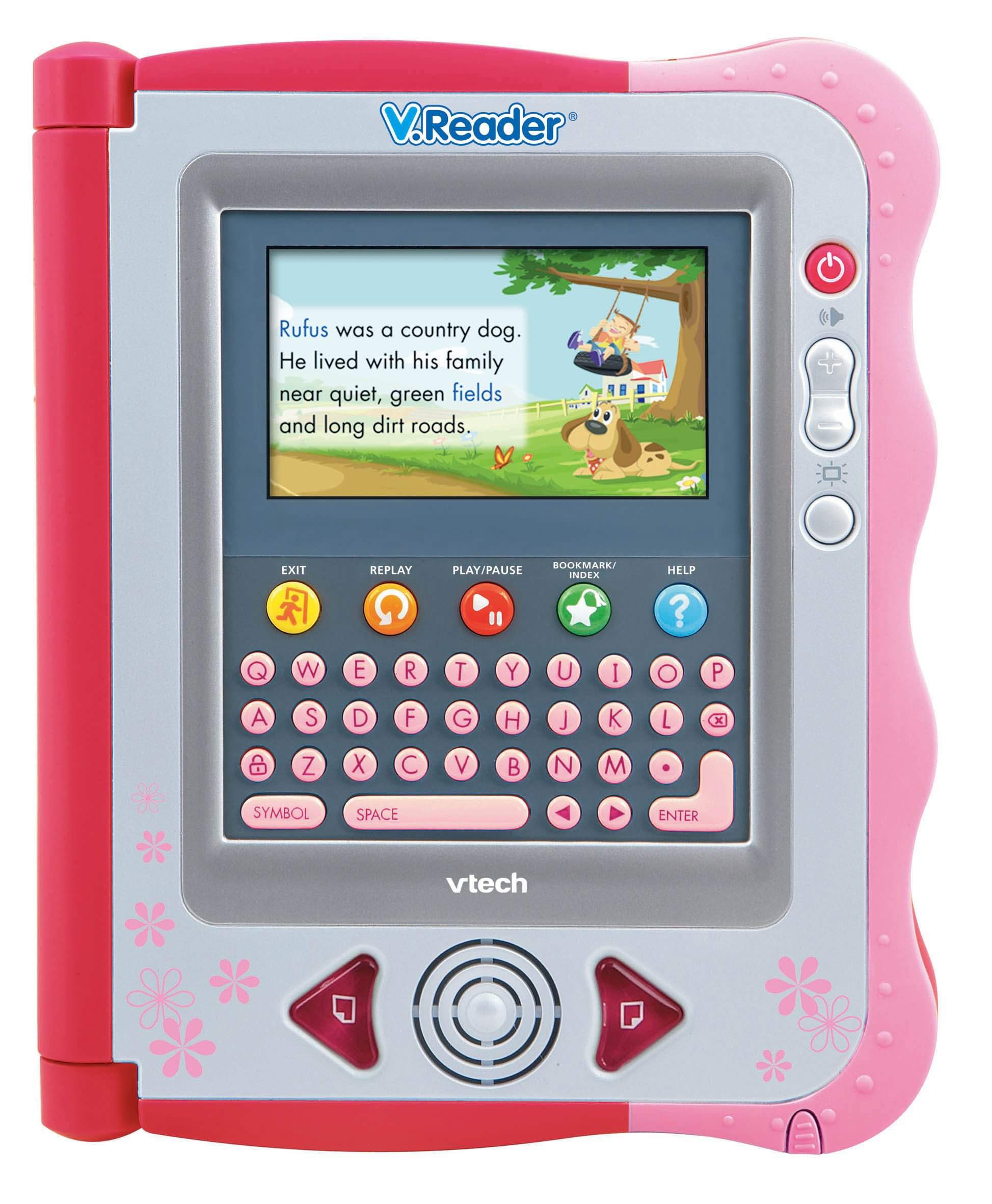 V.Reader Animated E-Book System - Pink by VTech