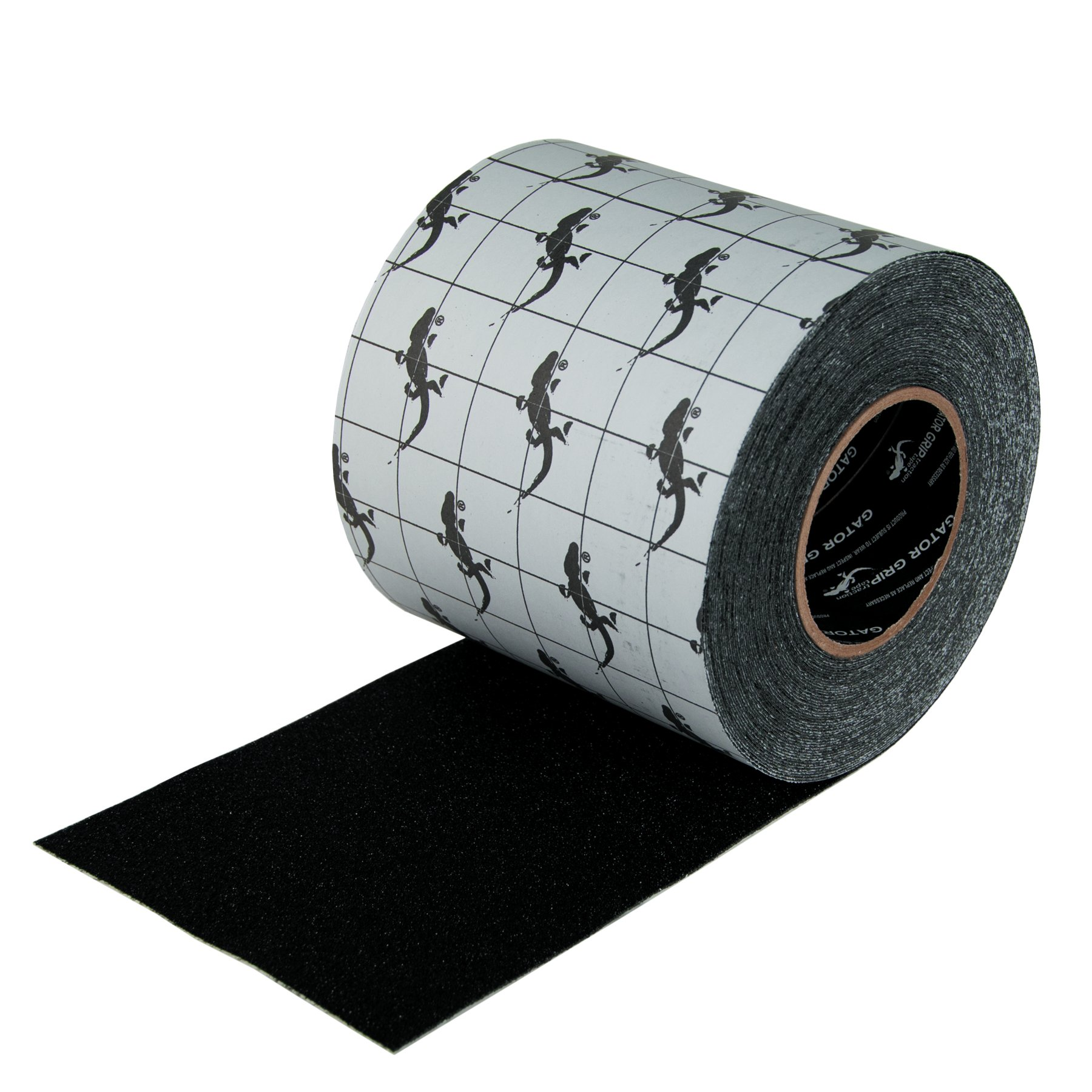 Gator Grip  : SG3106B Premium Grade High Traction Non Slip 60 Grit Indoor Outdoor Anti-Slip Tape, 6 Inch x 60 Foot, Black