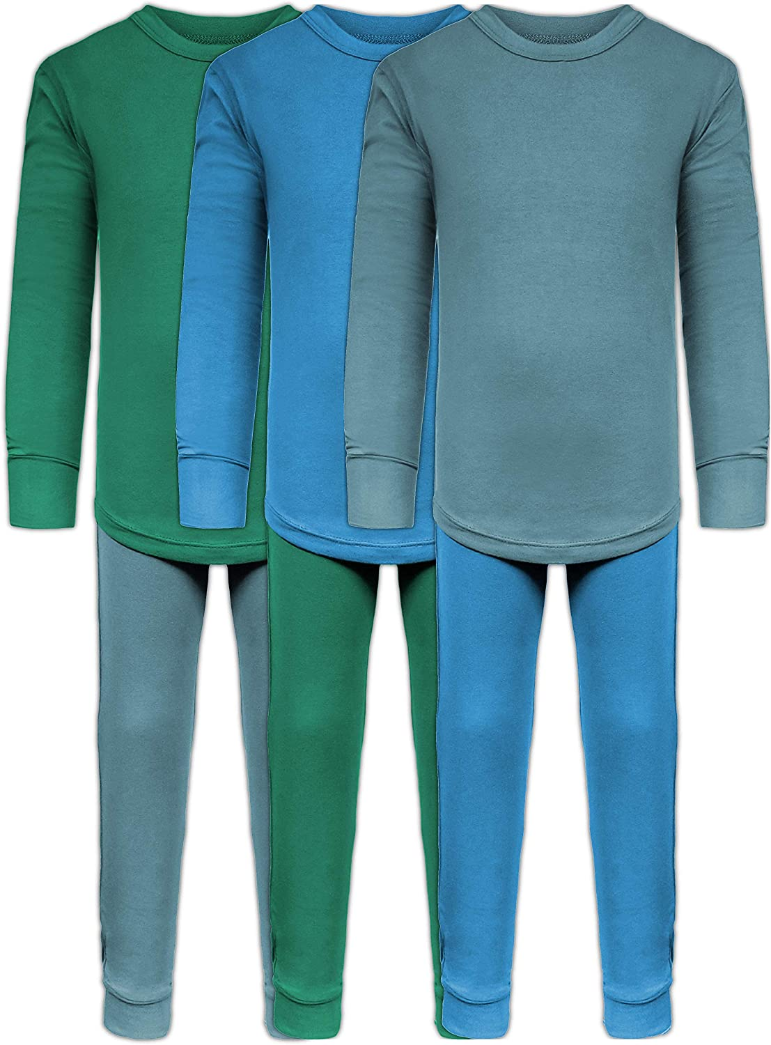 Only Boys Warm Long John Thermal Underwear Top and Pant Set