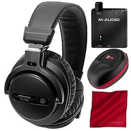 Amazon.com: Audio-Technica ATH-PRO5 X BK profesional Monitor ...