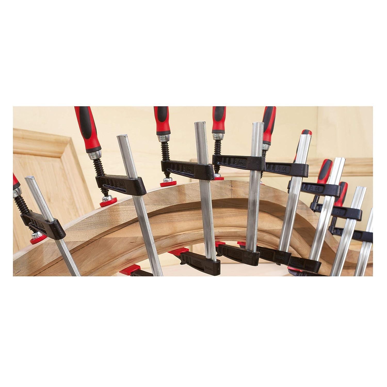 Bessey TG4.512+2K 0-12 Medium Duty TG Malleable Cast Bar Clamp with 2K Handle