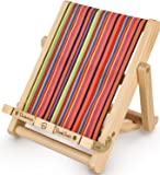 Book Stand, iPad, Copy Holder and Cookery Book Rest - Stripy Deck Chair - Reading Accessories for Home, Office, Bed - Great Christmas or Birthday Gift