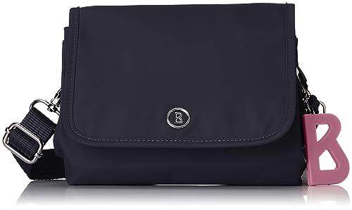 neueste trends gute Textur klassischer Chic Bogner Damen Verbier Londa Shoulderbag Xshf Schultertasche, 3.0x15.0x18.0 cm