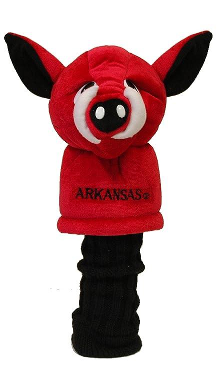 Amazon.com: NCAA Mascot Head Cover NCAA Team: Arkansas ...