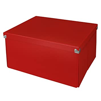 Superb Pop Nu0027 Store Decorative Storage Box With Lid   Collapsible And Stackable    Large Mega