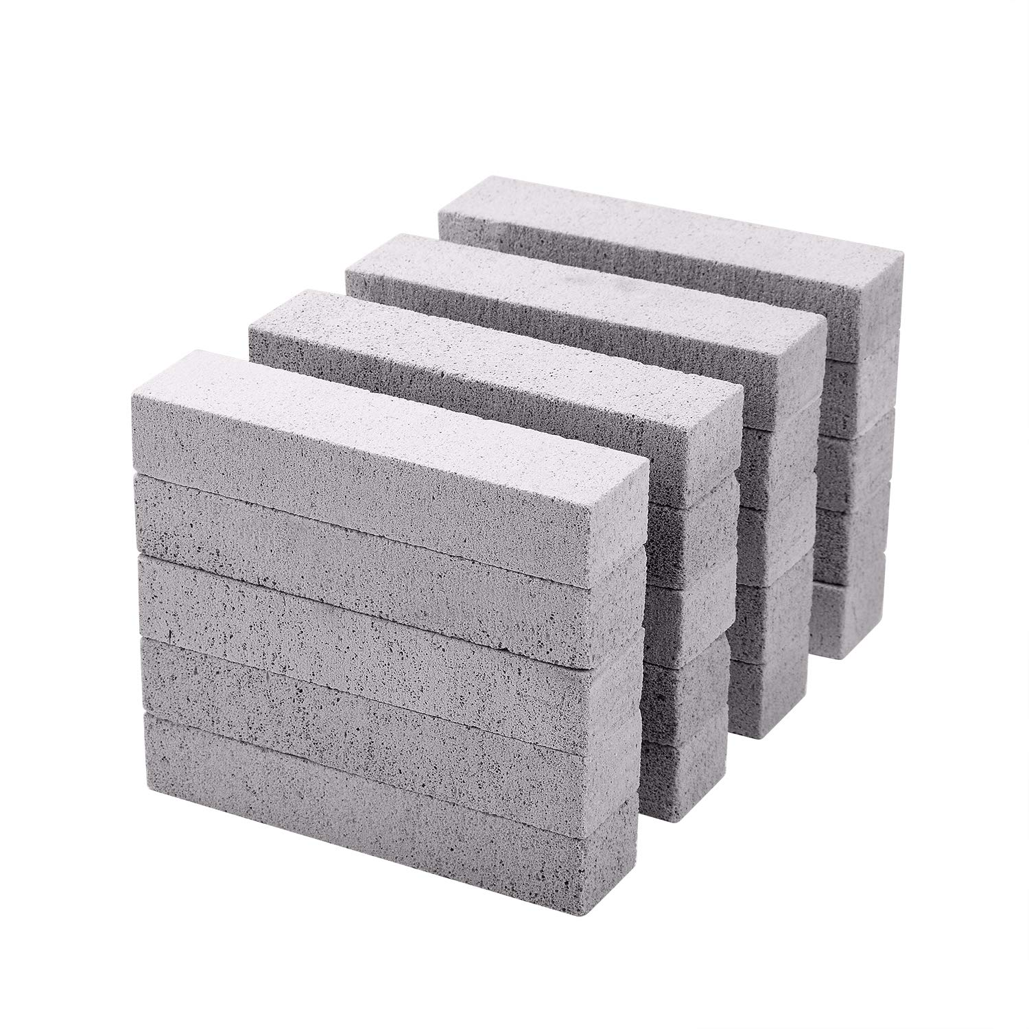 20 PCS Pumice Stone Toilet Bowl Cleaner, Long-Lasting Pumice Stone for Toilet Bowl and Tile Cleaning, Saves You 50% More Money, 1 Minute Remove Stubborn Stains on Swimming Pool Tiles, Toilet Bowls by NOTCHIS