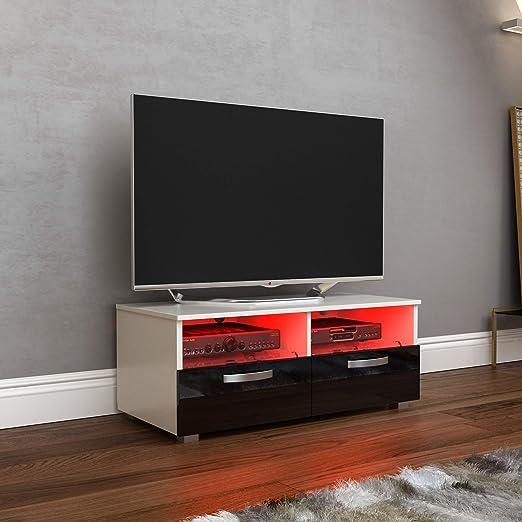 Vida Designs Vogue - Mueble para televisor LED, 2 cajones, moderno ...